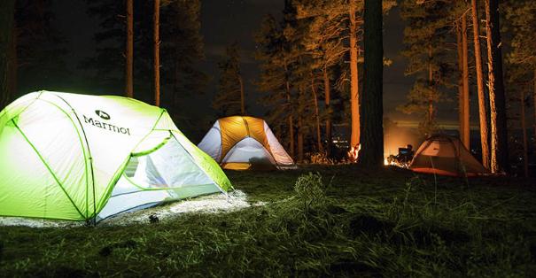 Vous pouvez partir en camping en toute saison !