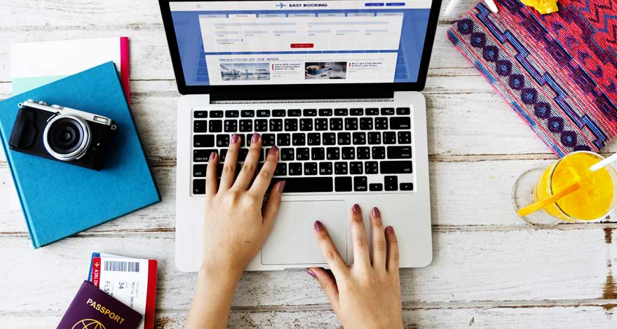 Acheter un voyage en ligne