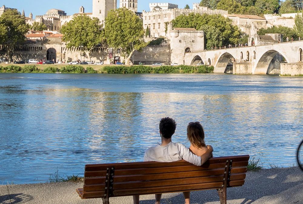 Séjour en amoureux à Avignon