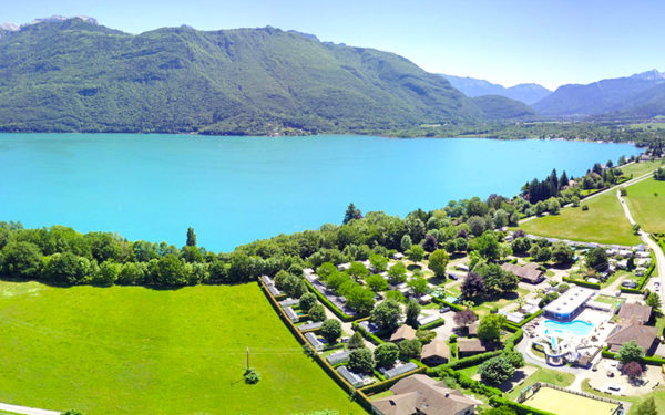 Les plus beaux campings au bord du lac d'Annecy