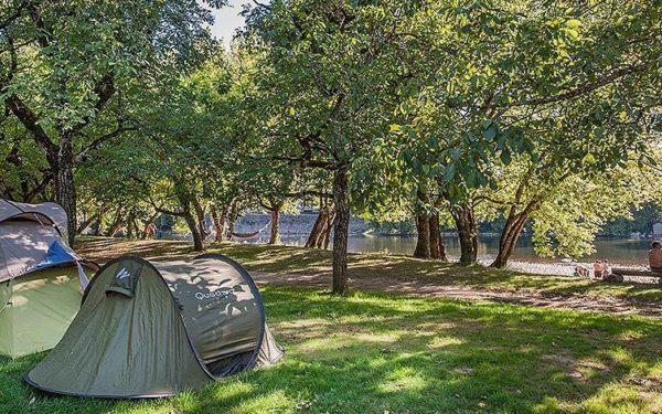 3 campings pas chers dans le Lot