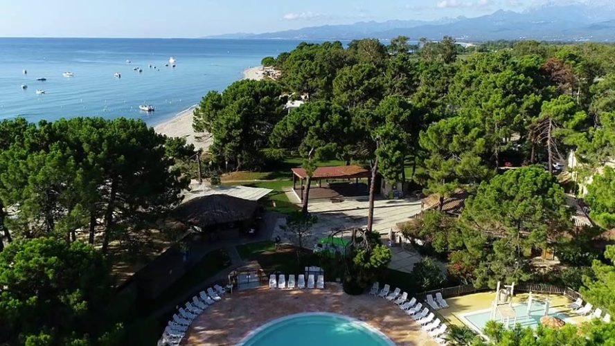 3 campings en bord de mer en Corse
